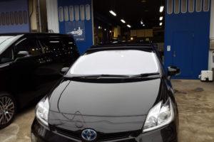 トヨタ プリウス30 フロントガラス交換COATTECT