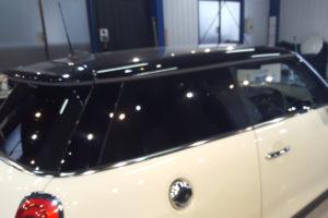 BMW ミニ 3D 断熱フィルム施工