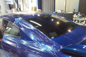 日産 GT-R 断熱フィルム施工