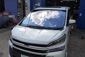 トヨタ ヴェルファイア30 フロントガラス交換COATTECT