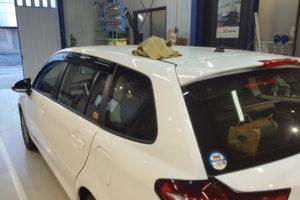 トヨタ カローラフィールダー 断熱フィルム施工