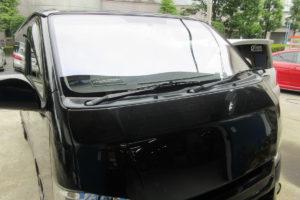 トヨタ ハイエース200系標準 フロントガラス交換COATTECT他