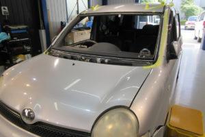 トヨタ シエンタ フロントガラス交換