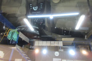メルセデスベンツ S550 ウィンドウリペア 9㎜