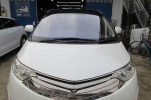 トヨタ エスティマ50 フロントガラス交換COATTECT