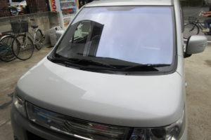 スズキ ワゴンR MH23 フロントガラス交換COATTECT