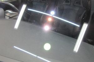 三菱 ランサーエボリューション フロントガラス研磨