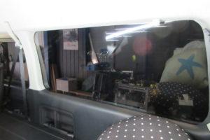 トヨタ ハイエースワイドロング 断熱フィルム施工