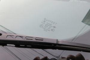トヨタ エスティマ30 サンテクト断熱フロントガラス交換