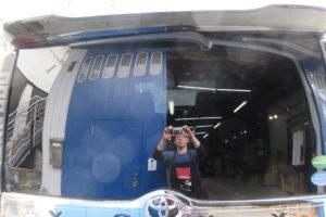 トヨタ ヴォクシー80 断熱カーフィルム施工