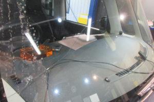 ダイハツ タント フロントガラス交換COATTECT、断熱フィルム施工