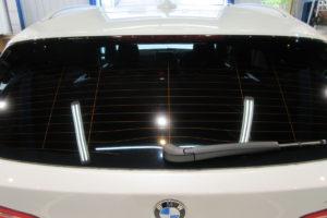 BMW X1 断熱カーフィルム施工