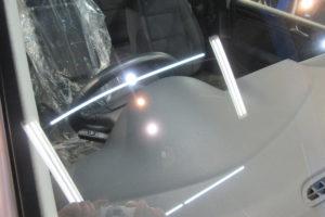 フォルクスワーゲン ゴルフ6 フロントガラス研磨