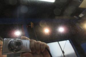 トヨタ エスティマ50 ガラス全面雨染み落し