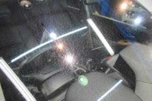 ホンダ オデッセイRB3 フロントガラス研磨