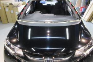 ホンダ フィットGK5 フロントガラス交換COATTECT