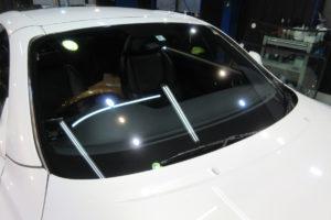 レクサス SC430 フロントガラス研磨