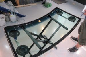 スズキ エブリィDA64V フロントガラス交換