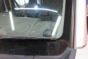 スズキ エブリィDA17 純正品中古フロントガラス交換