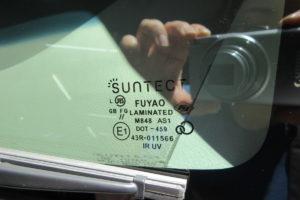 スズキ エブリィDA64 フロントガラス交換SUNTECT