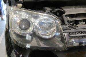 ダイハツ ムーヴL175S フロントガラス交換・ヘッドライト磨き