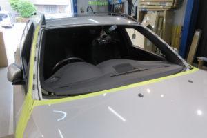 BMW 5シリーズE61ツーリング OEM フロントガラス交換