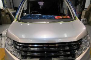 ホンダ ステップワゴンRK フロントガラス交換COATTECT