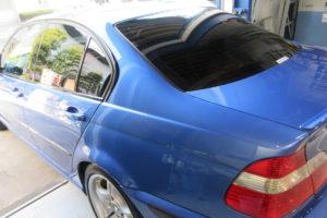 BMW 3シリーズセダン 断熱フィルム施工