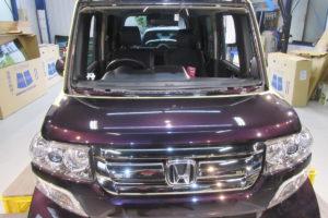 ホンダ N-BOX JF1 コートテクト熱反射フロントガラス交換