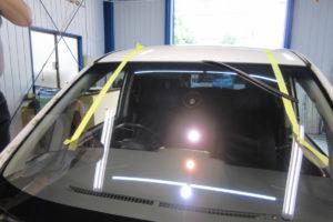 トヨタ ヴォクシー70 フロントガラス交換COATTECT