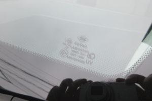 トヨタ サイ フロントガラス交換