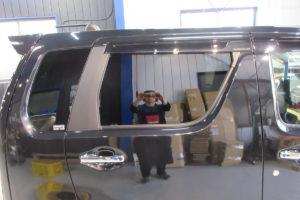 スズキ ワゴンR MH55 カーフィルム施工
