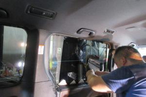 トヨタ エスクァイア80 断熱カーフィルム施工