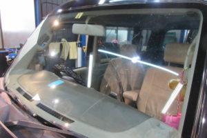スズキ エブリィDA64 コートテクト熱反射フロントガラス交換
