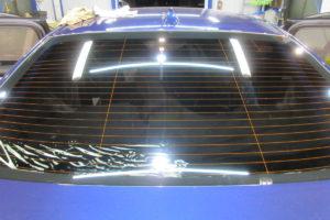 BMW 528i セダン フィルム施工(リアガラスのみ)