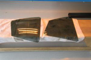 トヨタ プリウス50 透明断熱フィルム施工