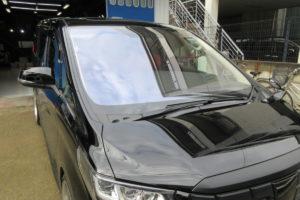 ヨタ アルファード30 フロントガラス交換COATTECT