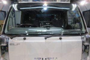 いすゞ エルフ標準 コートテクト熱反射フロントガラス交換