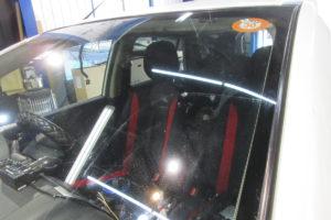 日産 ウィングロードY12 フロントガラス交換