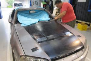 日産 スカイラインR34 フロントガラス交換