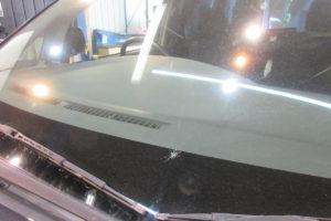 トヨタ ヴォクシー60(後期) サンテクト断熱フロントガラス交換