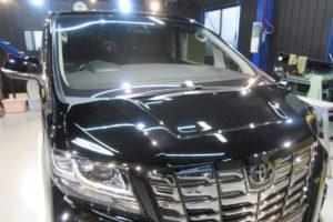 トヨタ アルファード30 フロントガラス交換COATTECT
