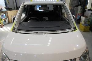 スズキ ワゴンR MH23 フロントガラス交換