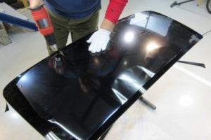 ヨタ ハイエース200系標準 リアガラス交換