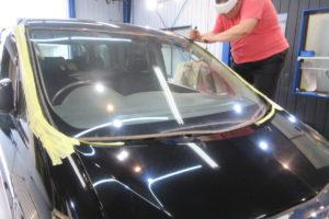 トヨタ アルファード10 フロントガラス交換