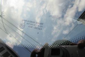 BMW 320dセダン OEM品フロントガラス交換