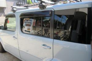 日産 キューブZ11 COATTECT・断熱フィルム施工
