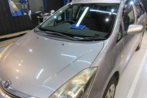 トヨタ ウィッシュ10 フロントガラス交換