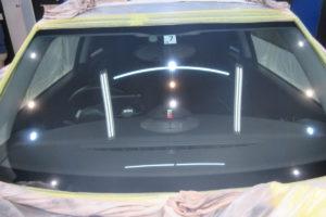 BMW ミニ フロントガラス研磨