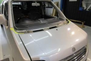 スズキ ワゴンR フロントガラス交換